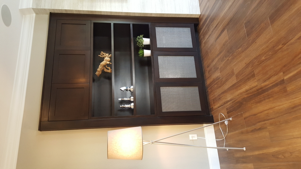built-in brown cabinet 2