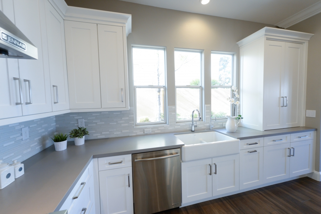 Large White Kitchen Cabinet