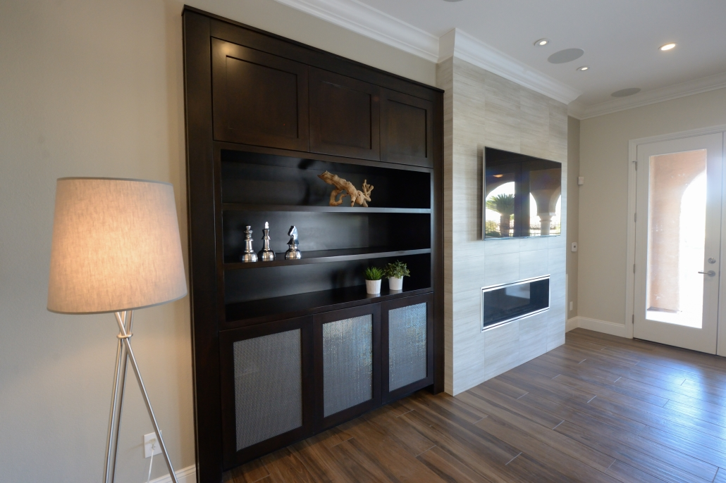 built-in brown cabinet 3