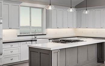 white kitchen in Las Vegas
