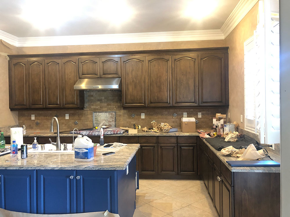 Cabinet Refacing, kitchen