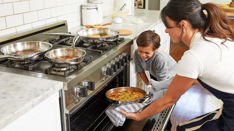 Kids-friendly kitchen