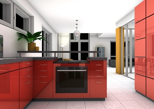Colorful Kitchen Tiles