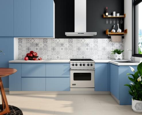 kitchen floor and layout